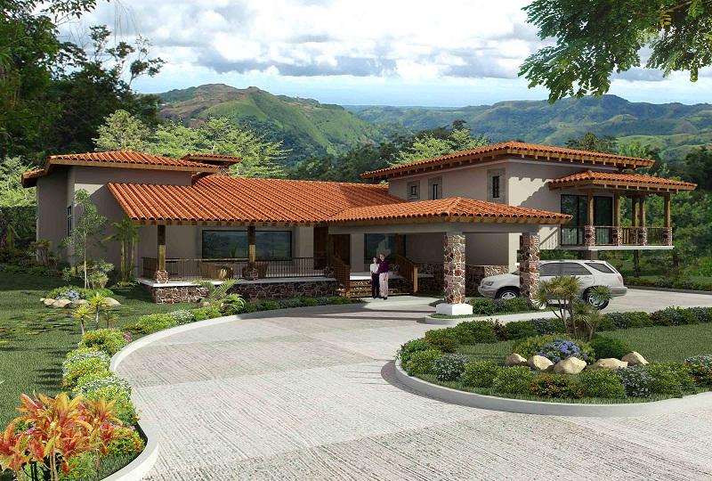 Amplias casa de campo con excelentes acabados en boquete distrito de chiriqu en panam - Casas de campo embargadas en lorca ...