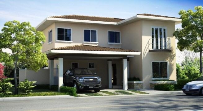 Un proyecto de casas con 4 hermosos modelos para elegir tu - Proyectos de casas ...