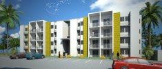 apartamento en Panamá, La Chorrera, Puerto caimito, 2 recámaras, Para entregar, $ 49,257
