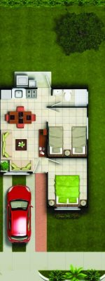 casa en Panamá, La Chorrera, Mendoza, 2 recámaras, En Construcción, $ 39,995